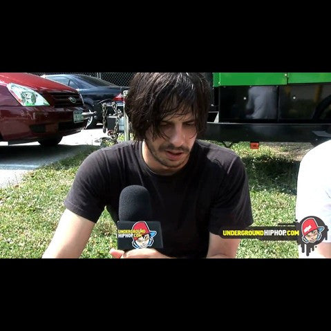 Eyedea - 'Interview Pt. 2 (At Rock The Bells - Columbia, MD - 7/12/09)' [Video]