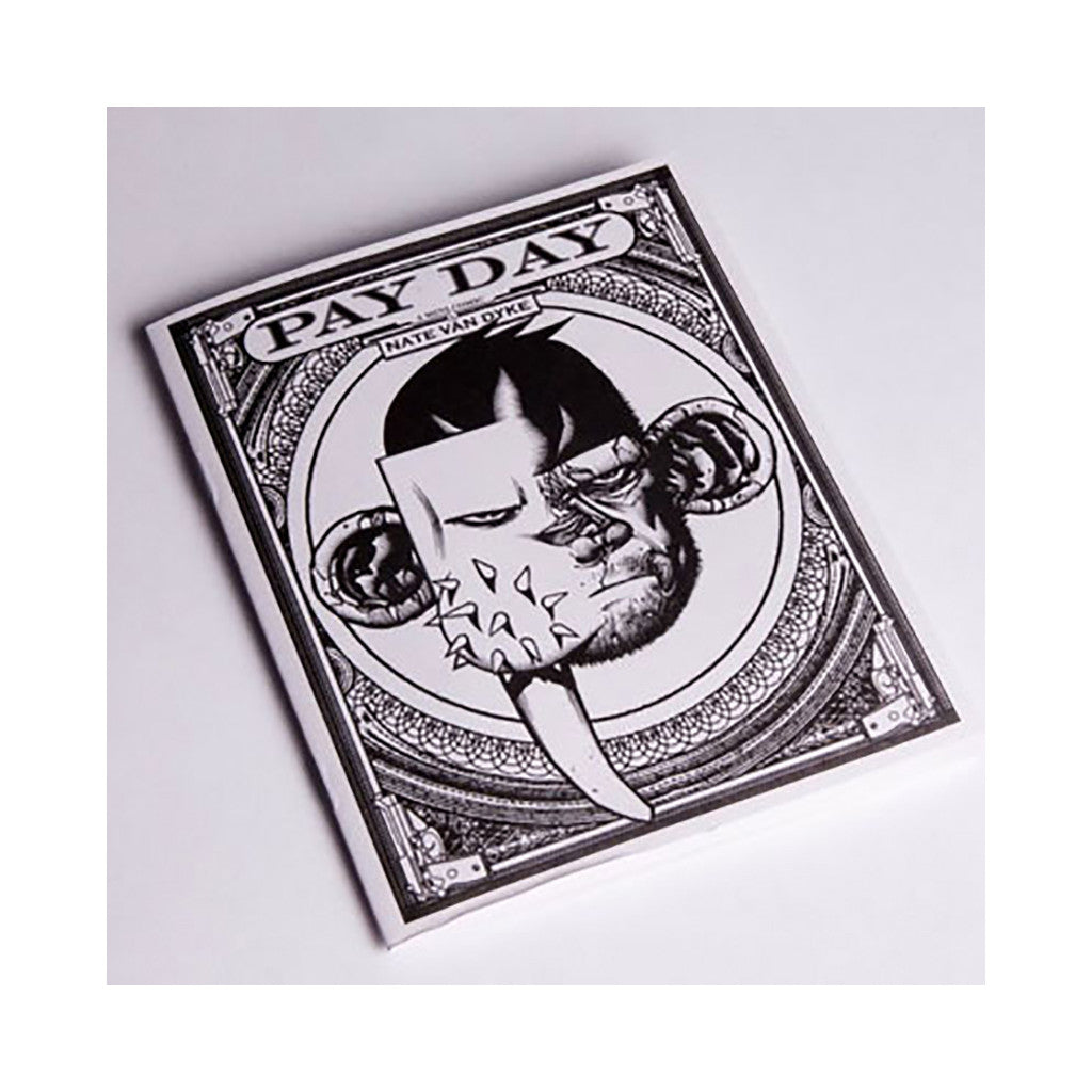 <!--020081118015358-->N8 Van Dyke (Upper Playground & Fifty 24SF Presents) - 'Pay Day: Gray Version' [Toy]