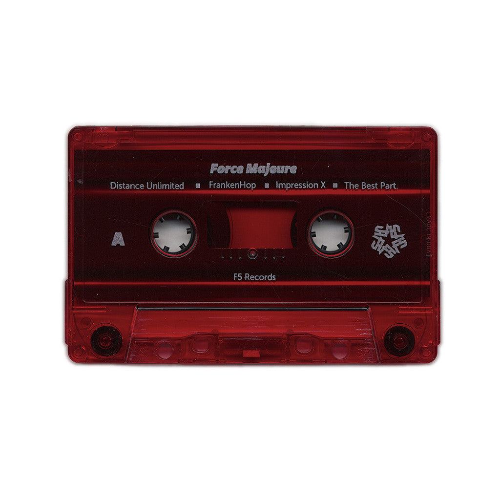 Black Spade & Nato Caliph - 'Force Majeure' [(Red) Cassette Tape]