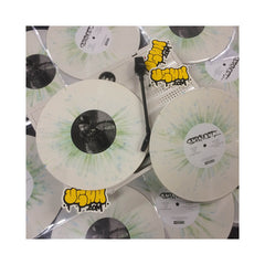 "Serengeti - 'Dust EP' [(White w/ Green & Blue Splatter) Vinyl [10""]]"