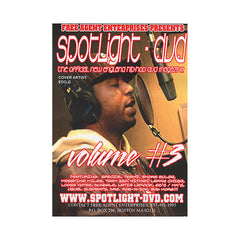 <!--020060620007700-->Free Agent Enterprises - 'Spotlight DVD # 3: The Official New England Hip Hop DVD Magazine' [DVD]