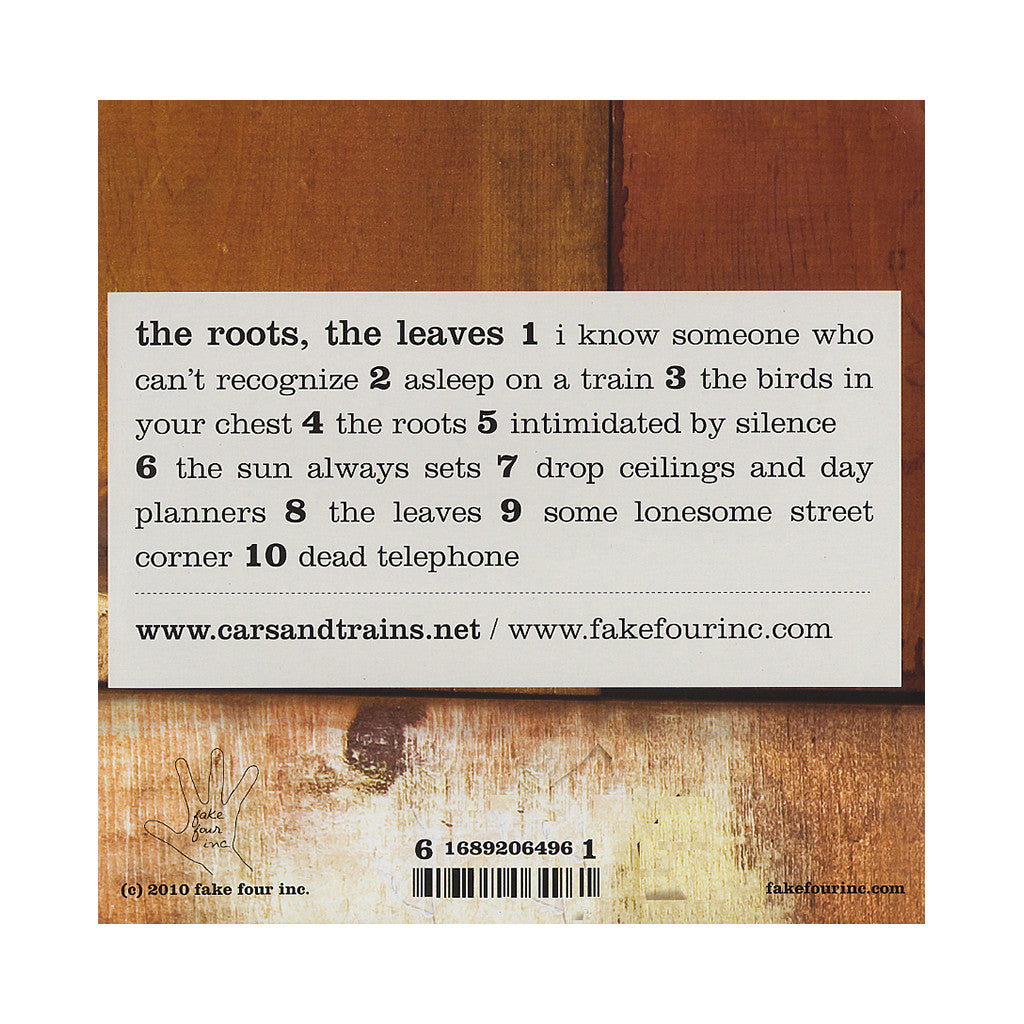 <!--020100126004262-->cars & trains - 'The Roots, The Leaves' [(Black) Vinyl LP]