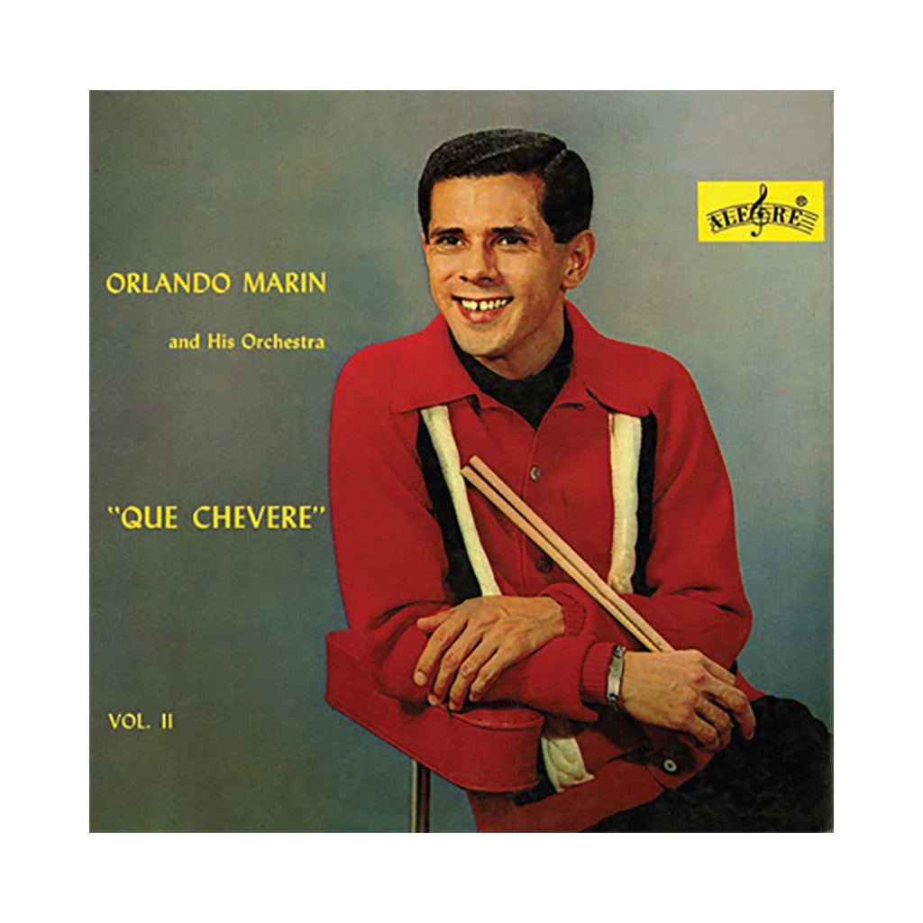 <!--020100914023106-->Orlando Marin - 'Que Chevere Vol. 2' [(Black) Vinyl LP]