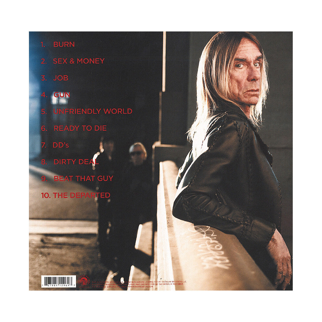 <!--020130430054639-->Iggy And The Stooges - 'Ready To Die' [(Black) Vinyl LP]