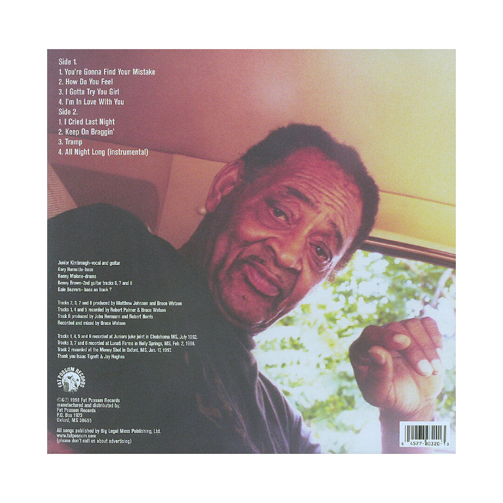 Junior Kimbrough - 'God Knows I Tried' [(Black) Vinyl LP]