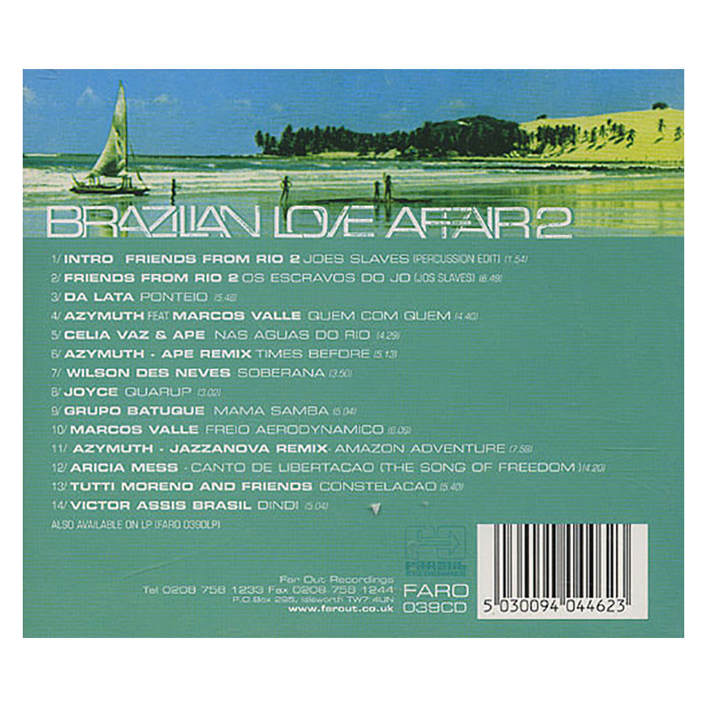 <!--020000502014379-->Various Artists - 'Brazillian Love Affair 2: Latin Selections From The Heart And Soul Of Brazil' [CD]