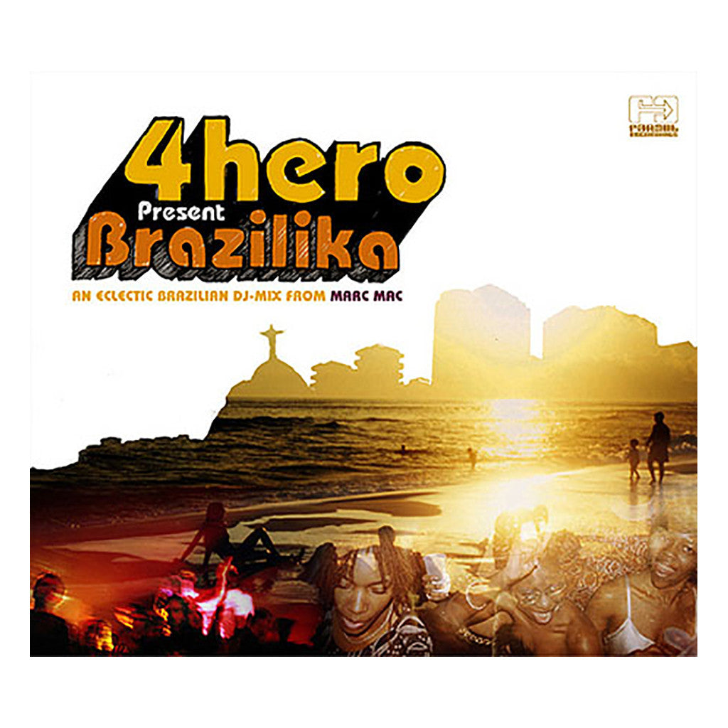 <!--020060725004913-->4hero Presents - 'Brazilika' [CD]