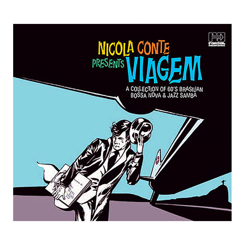 <!--020080226000184-->Various Artists (Compiled By: Nicola Conte) - 'Viagem: A Collection Of 60's Brazilian Bossa Nova & Jazz Samba' [CD]