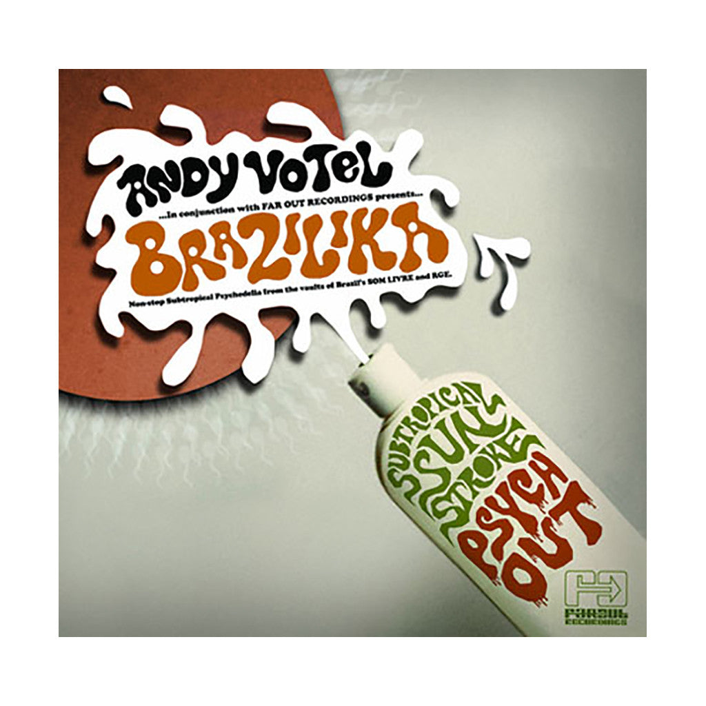 <!--020080429004744-->Andy Votel Presents - 'Brazilika' [CD]