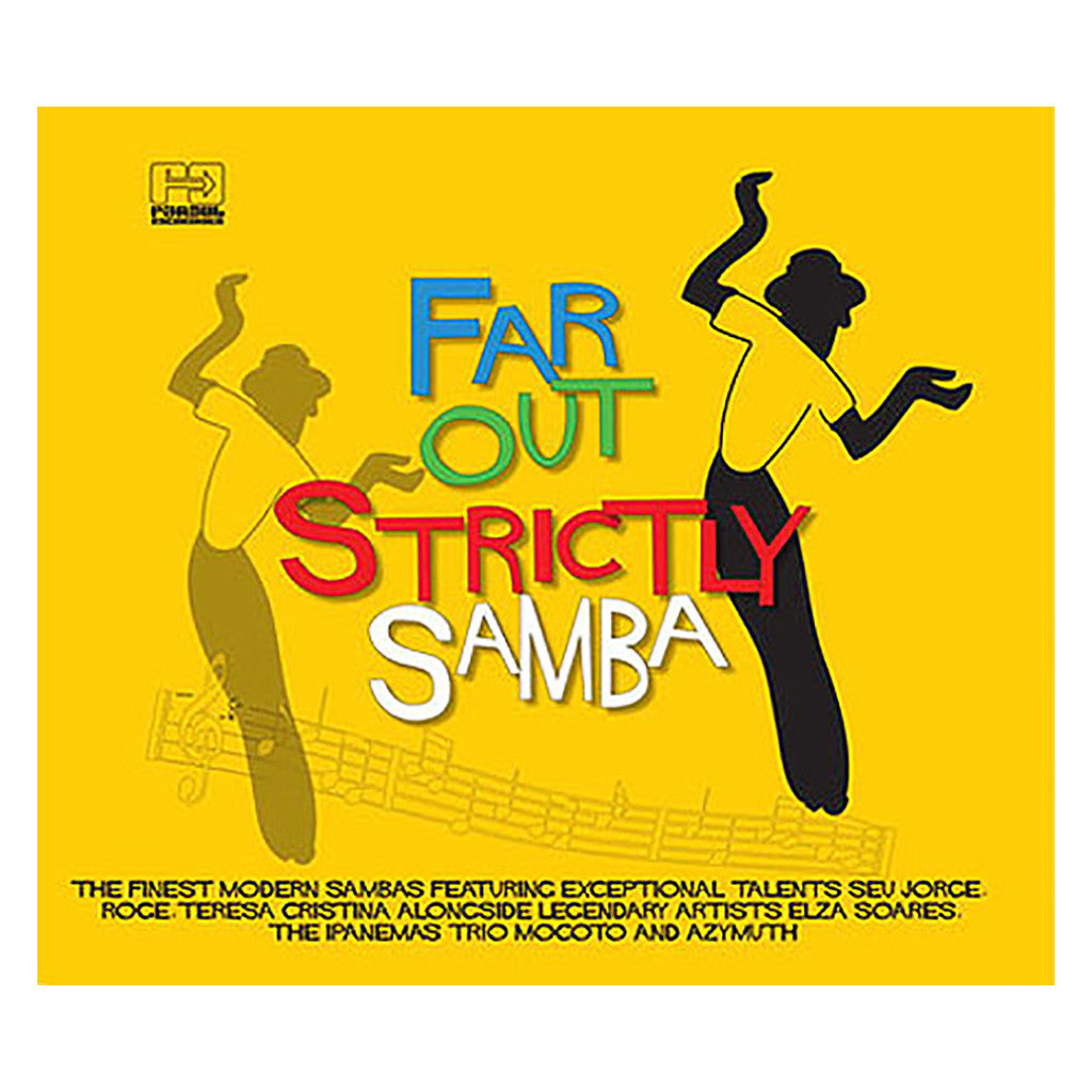 <!--120090303000464-->Various Artists - 'Far Out Strictly Samba' [CD]