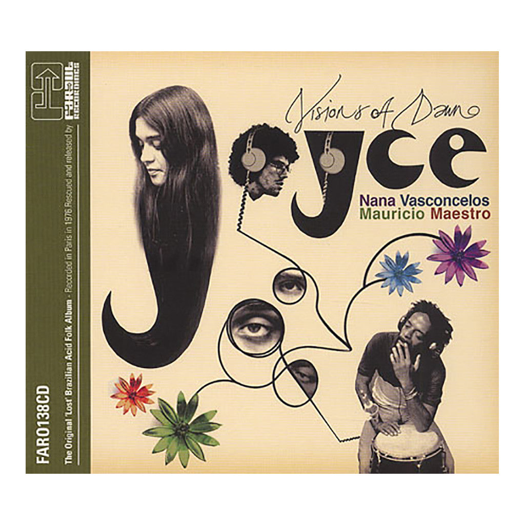 Joyce w/ Nana Vasconcelos & Mauricio Maestro - 'Visions Of Dawn (Paris '76 Project)' [CD]