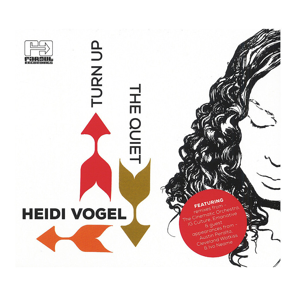 Heidi Vogel - 'Turn Up The Quiet' [CD]