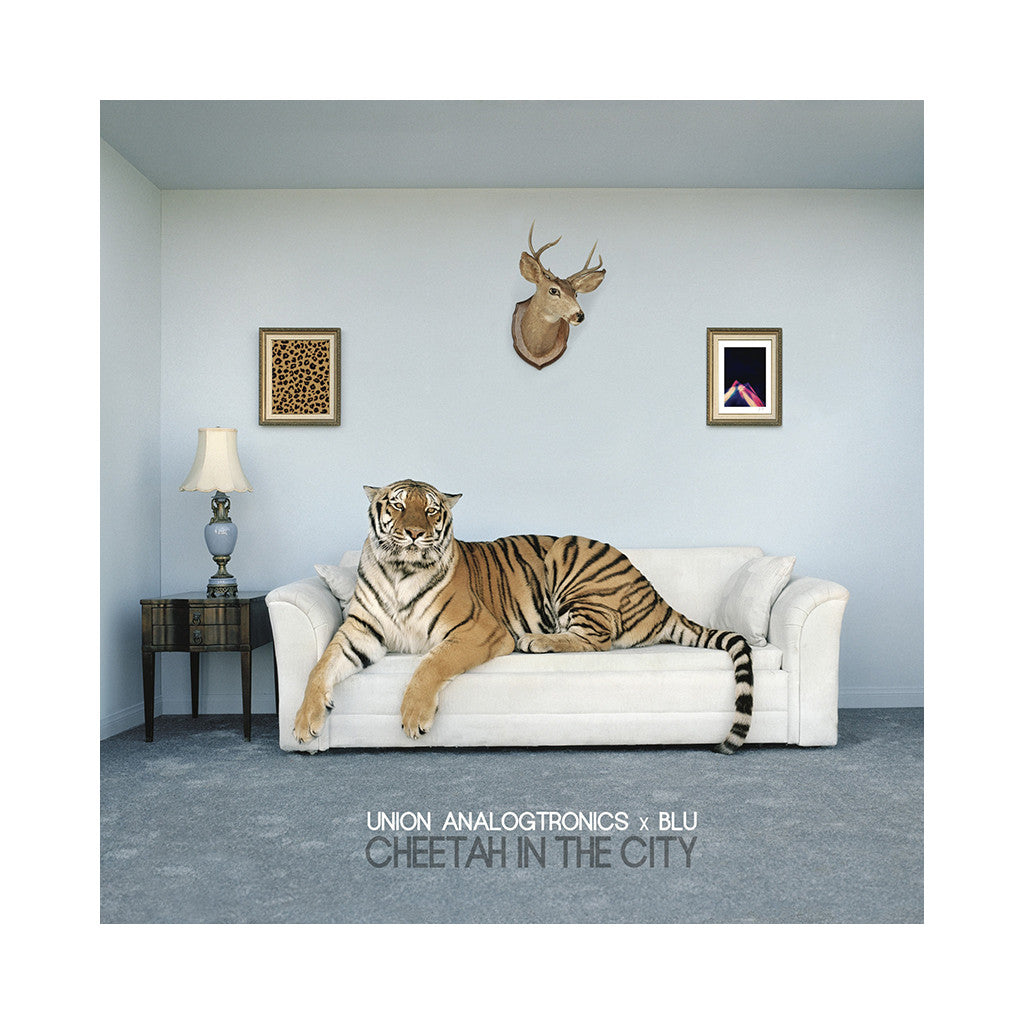 Union Analogtronics & Blu - 'Cheetah In The City' [(Black) Vinyl [2LP]]