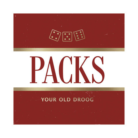 "[""Your Old Droog - 'PACKS' [Cassette Tape]""]"