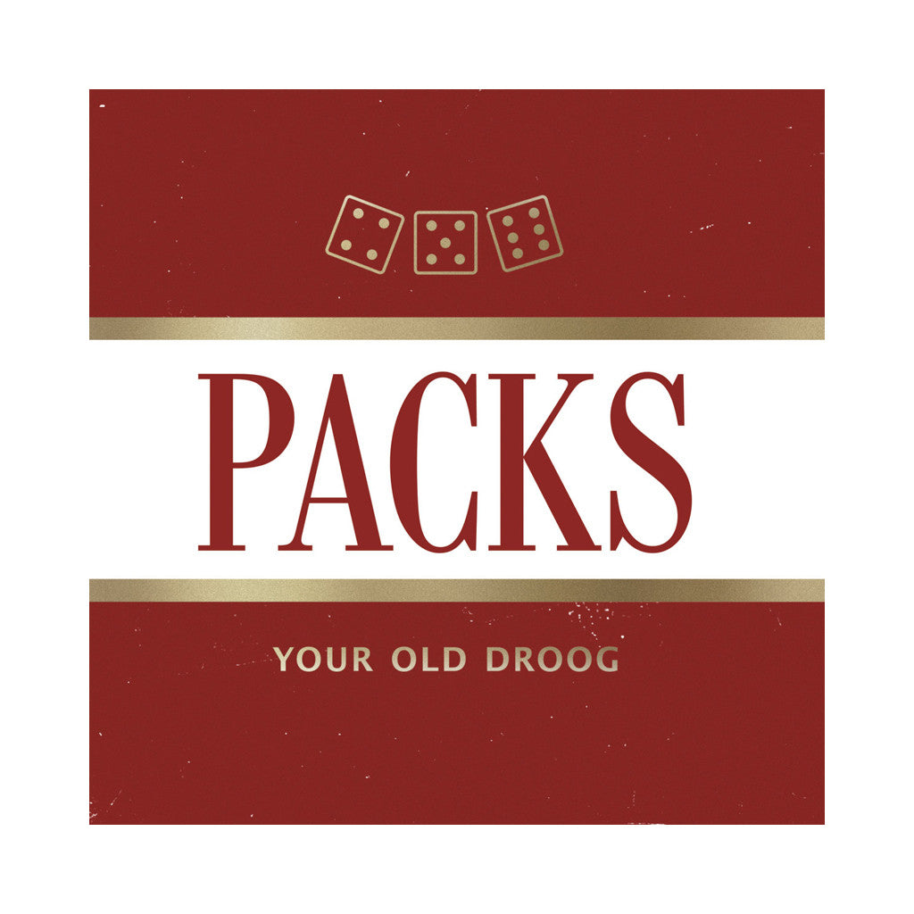 <!--120170310074714-->Your Old Droog - 'PACKs' [(Black) Vinyl LP]
