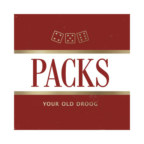 Your Old Droog - 'PACKs (THIS IS A RE-STOCK)' [(Black) Vinyl LP]