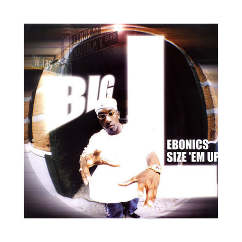 "Big L - 'Ebonics/ Size 'Em Up' [(Black) 12"" Vinyl Single]"