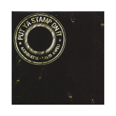 "<!--020080122012888-->Akrobatik - 'Put Ya Stamp On It/ Be Prepared' [(Black) 12"" Vinyl Single]"