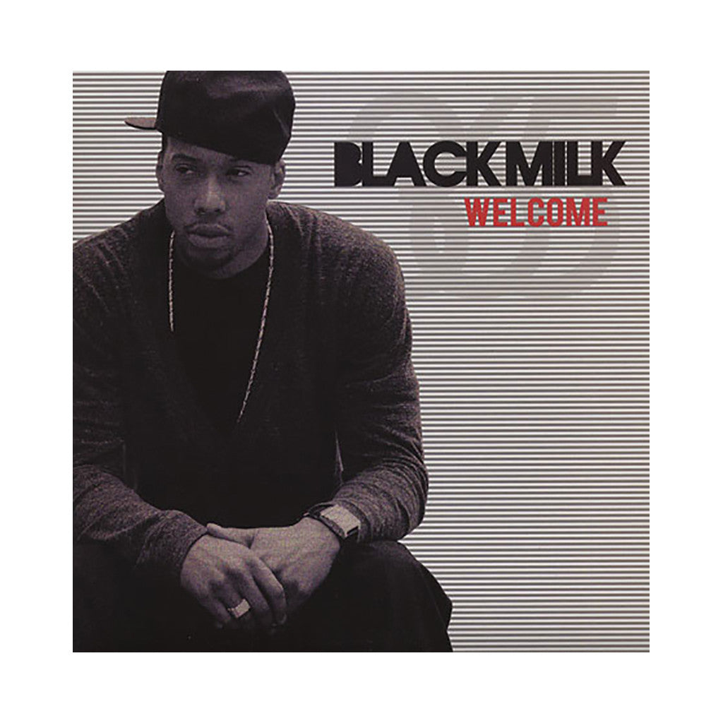 "<!--020100831023315-->Black Milk - 'Welcome (Gotta Go)/ Soul Glow/ Warning (Keep Bouncing)/ How Dare U' [(Black) 12"""" Vinyl Single]"