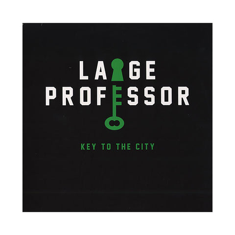 "Large Professor - 'Key To The City/ Key To The City (Remix)' [(Clear) 12"""" Vinyl Single]"