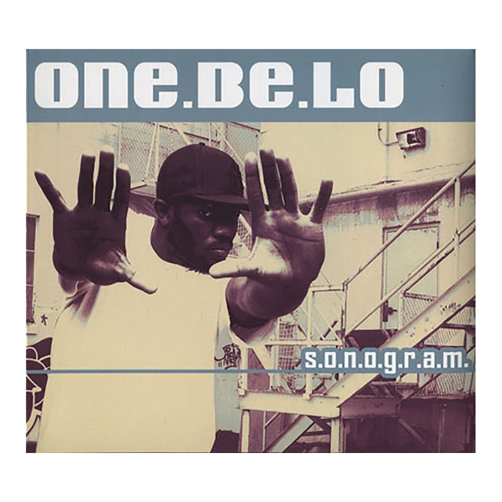 <!--020050208001857-->One Be Lo - 'S.O.N.O.G.R.A.M.' [(Black) Vinyl [2LP]]