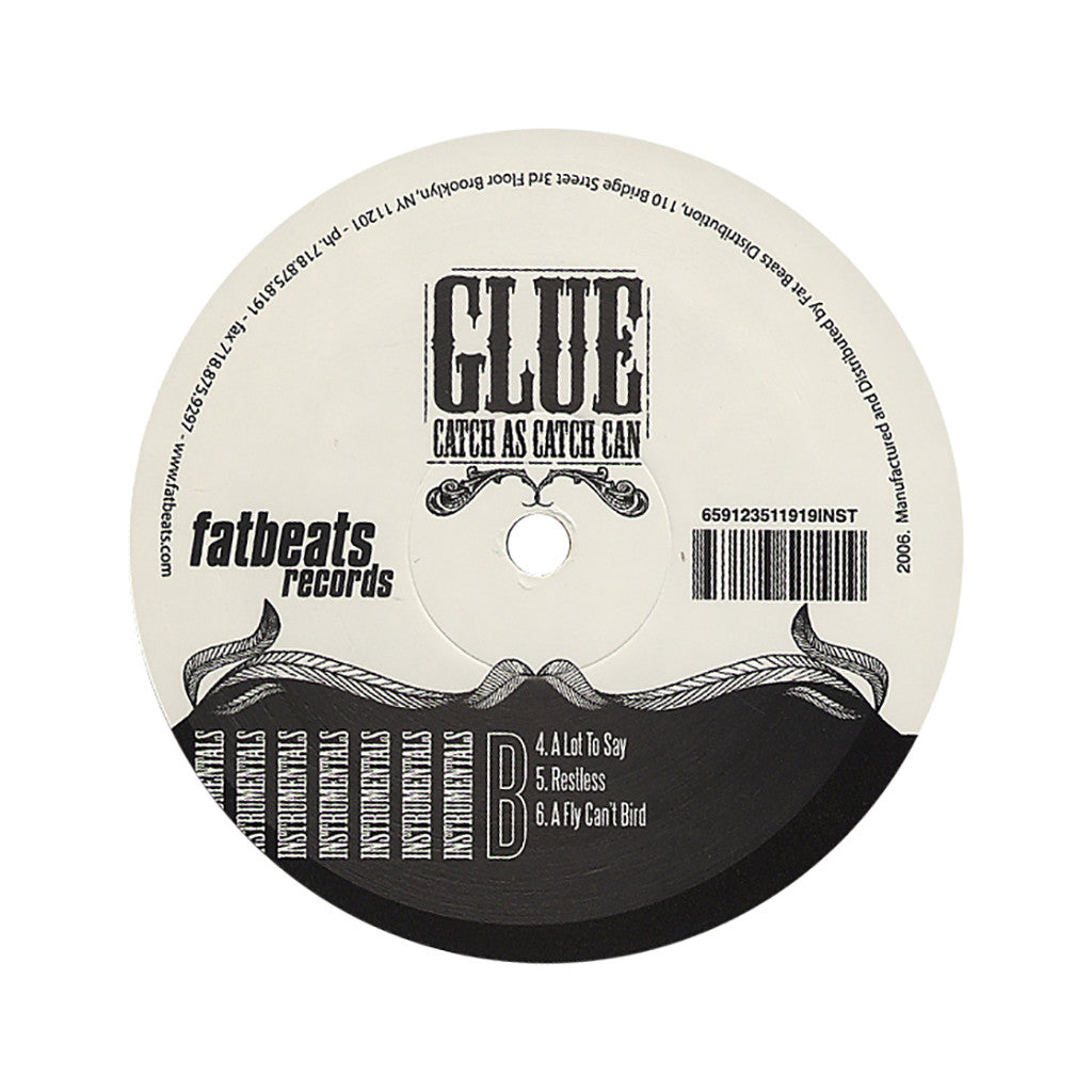 <!--020061031008644-->Glue - 'Catch As Catch Can (Instrumentals)' [(Black) Vinyl [2LP]]