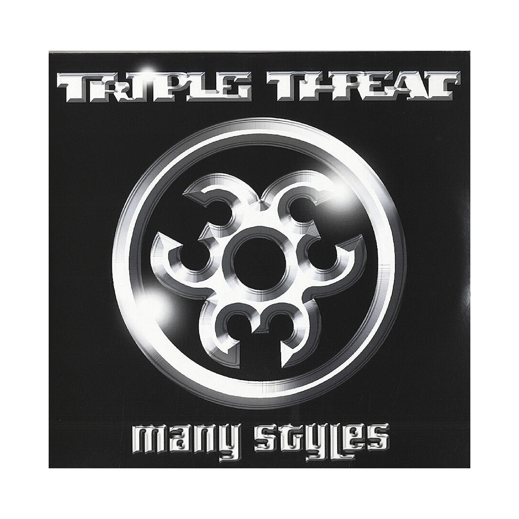 <!--020030304000608-->Triple Threat - 'Many Styles' [CD]