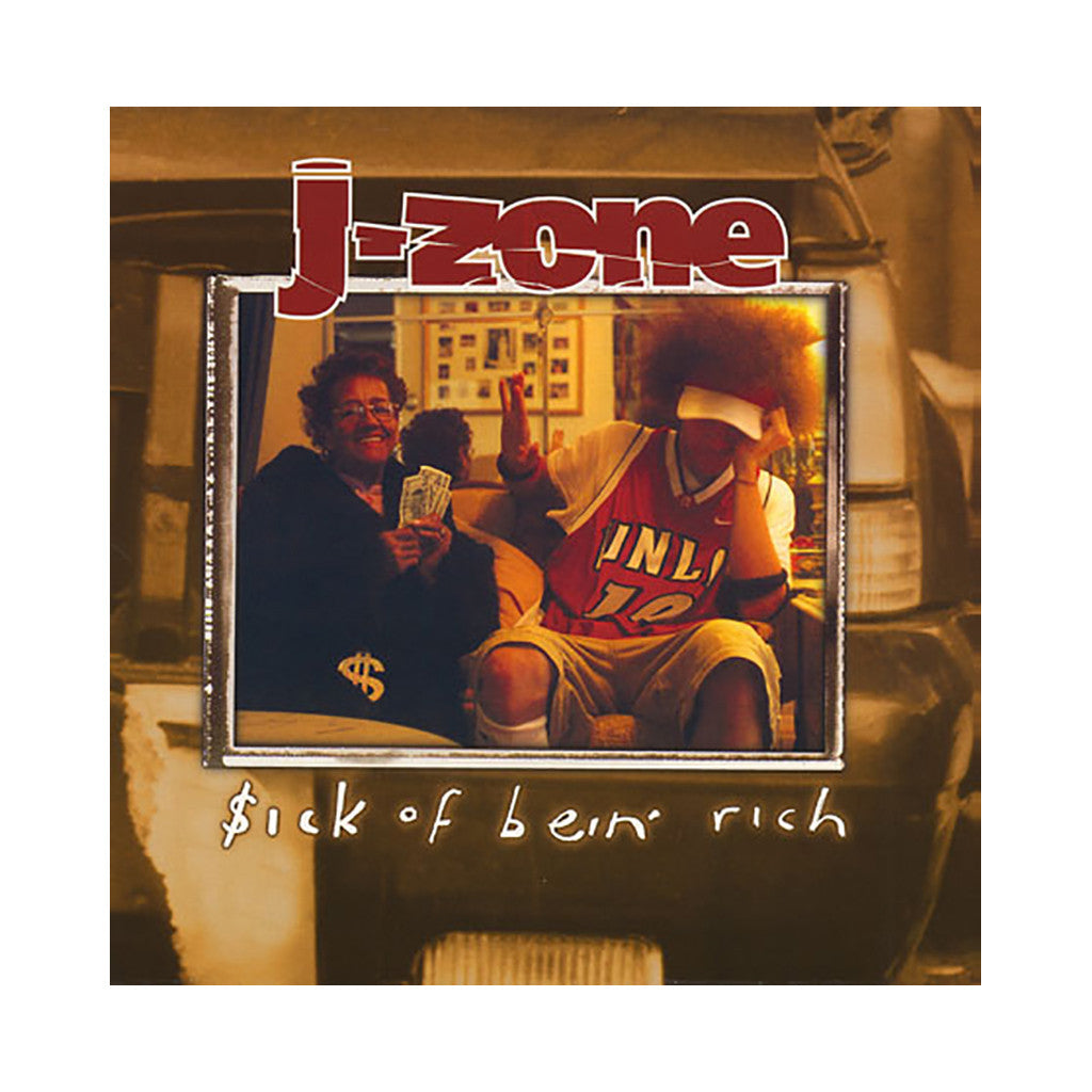 J-Zone - '$ick of Bein' Rich (Sick of Bein' Rich)' [CD]