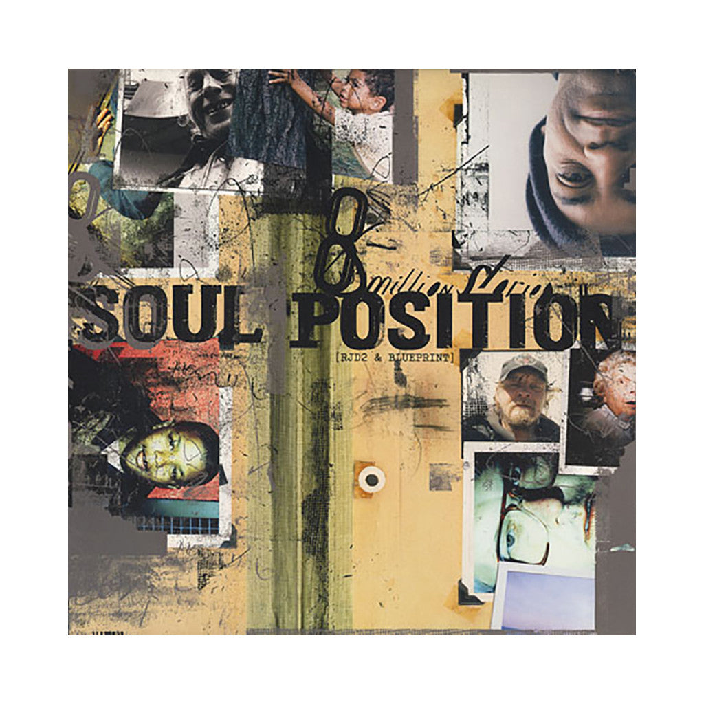 Soul Position - '8 Million Stories' [(Black) Vinyl [2LP]]