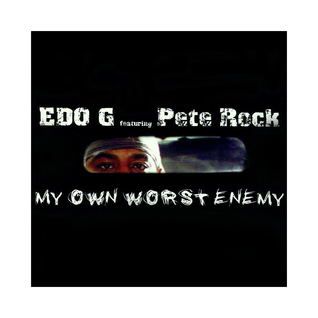 <!--020041109003597-->EDO.G & Pete Rock - 'My Own Worst Enemy' [(Black) Vinyl [2LP]]