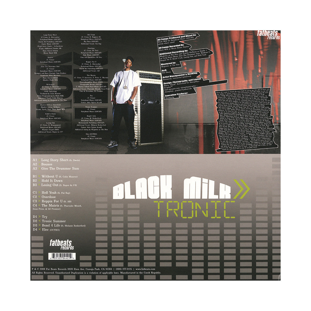 Black Milk - 'Tronic (Deluxe Edition)' [(Silver) Vinyl [2LP]]