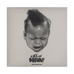 Black Milk & Danny Brown - 'Black And Brown (Instrumentals)' [(Black) Vinyl LP]
