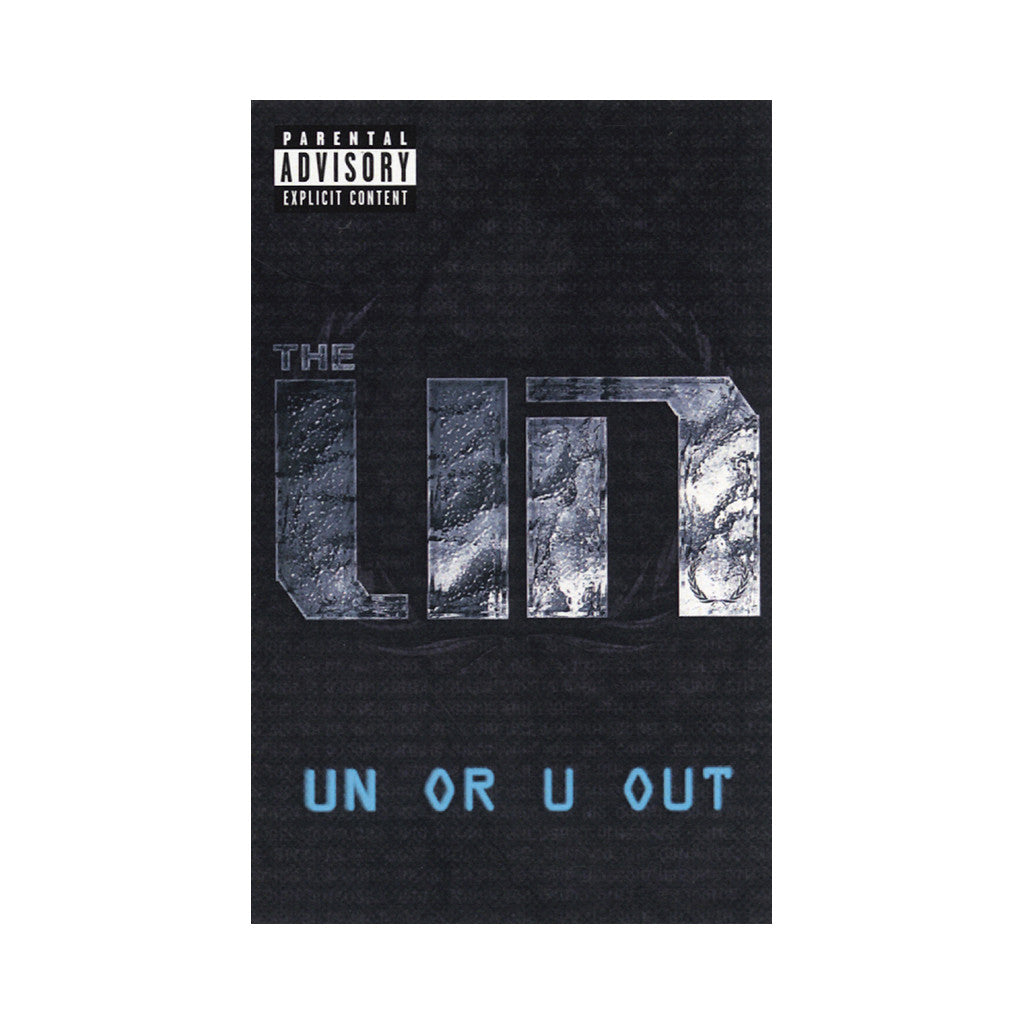 <!--2014041528-->The UN - 'UN Or U Out' [(Clear Blue) Cassette Tape]