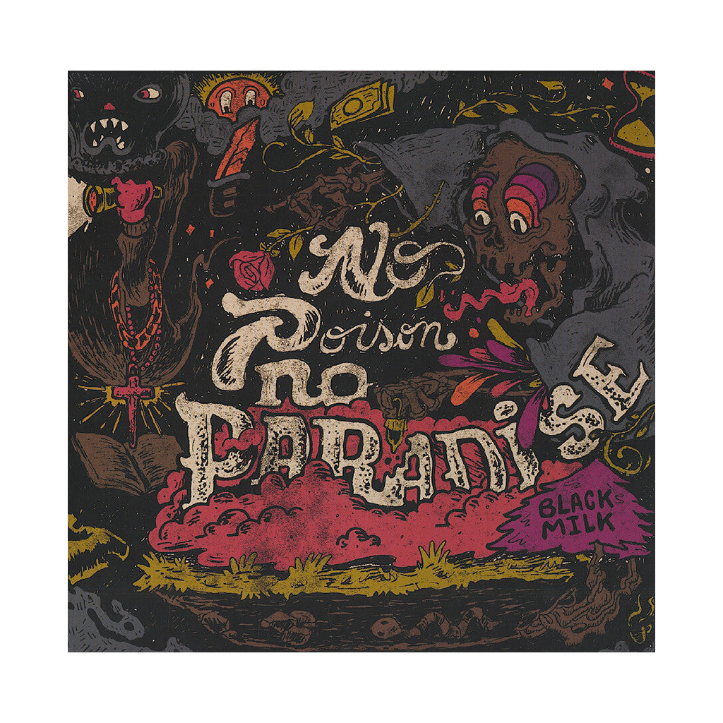 Black Milk - 'No Poison No Paradise' [(Black) Vinyl [2LP]]