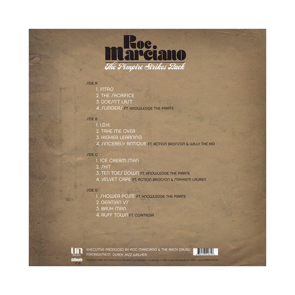 <!--120140304061813-->Roc Marciano - 'The Pimpire Strikes Back' [(Black) Vinyl [2LP]]