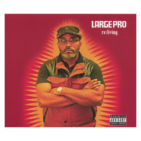 "[""Large Professor - 'Re:Living (CLEARANCE PRICED!)' [CD]""]"