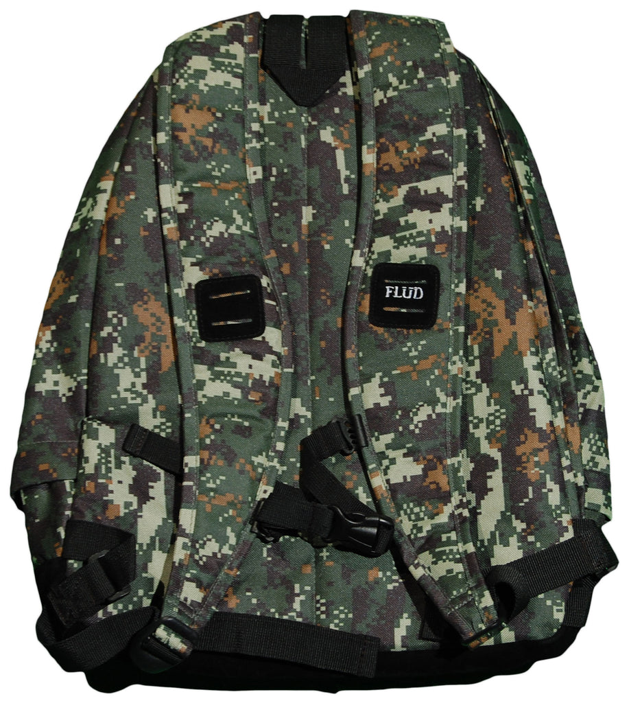 <!--020120306043133-->FLuD Watches - 'OG' [(Camo Pattern) Backpack]