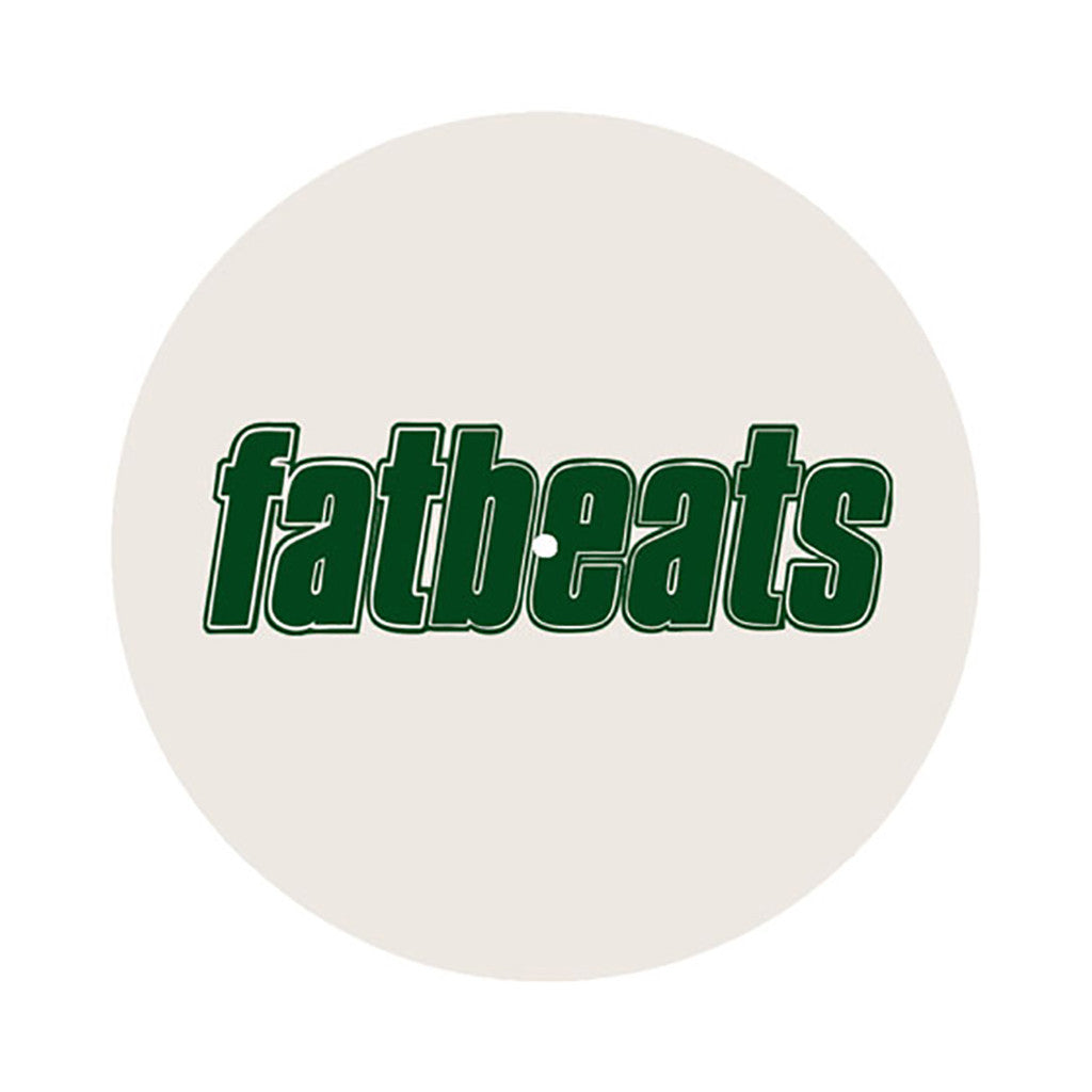 Fat Beats Records - 'Logo' [(White) Slipmat]