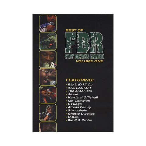 "[""Fat Beats Radio - 'Best Of Vol. 1' [DVD]""]"
