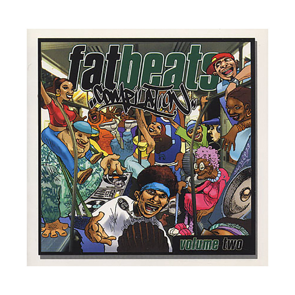 <!--020020723000463-->Various Artists - 'Fat Beats Compilation Vol. 2' [CD]
