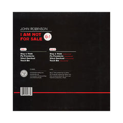<!--2008111822-->John Robinson - 'I Am Not For Sale EP 1' [(Black) Vinyl EP]