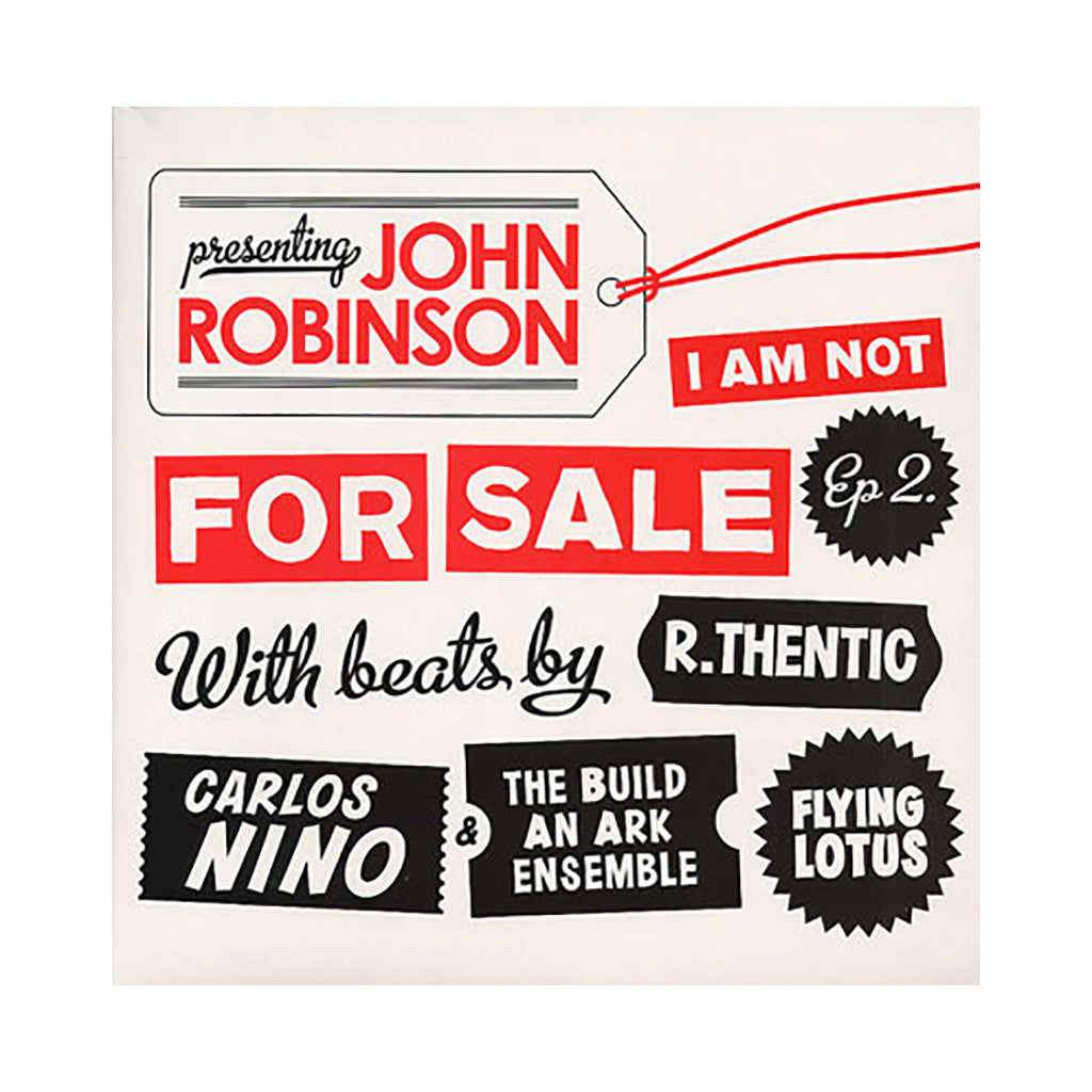 <!--020081118015374-->John Robinson - 'I Am Not For Sale EP 2' [(Black) Vinyl EP]