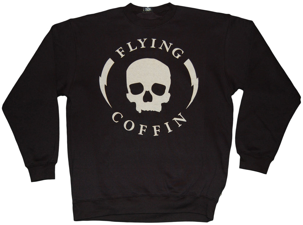 <!--2011110110-->Flying Coffin - 'Shocktrooper' [(Black) Crewneck Sweatshirt]