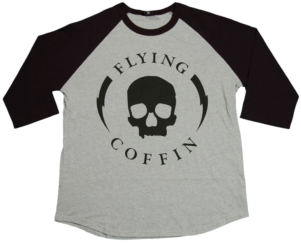 <!--2011110159-->Flying Coffin - 'Shocktrooper' [(Gray) T-Shirt]