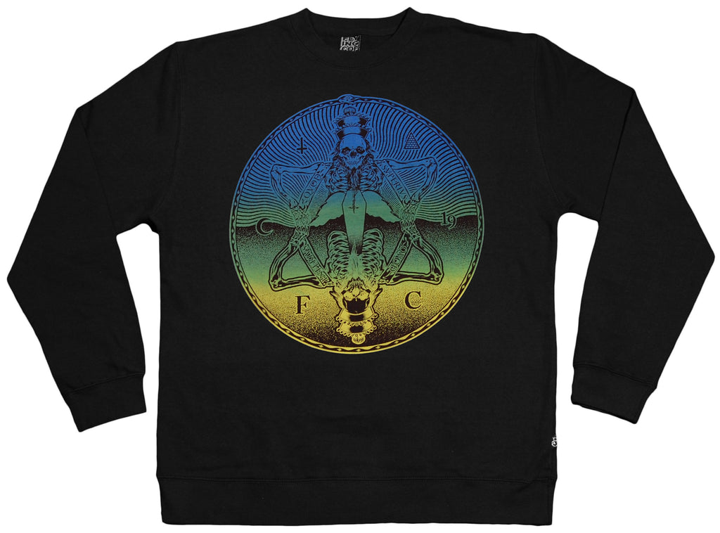 <!--2012041036-->Flying Coffin - 'Superius' [(Black) Crewneck Sweatshirt]