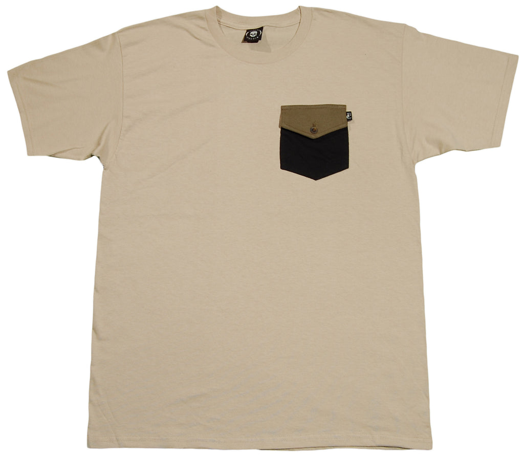 <!--2012041027-->Flying Coffin - 'Surplus' [(Light Brown) T-Shirt]