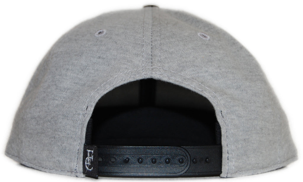 <!--020120410043776-->Flying Coffin - 'FC19 - Black' [(Gray) Snap Back Hat]