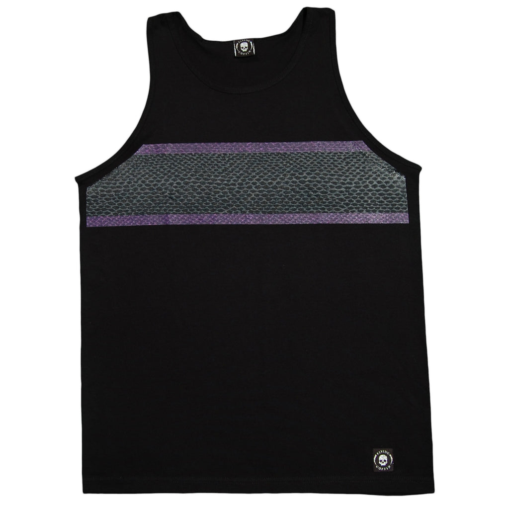 <!--2012072449-->Flying Coffin - 'Snake Stripe' [(Black) Tank Top]