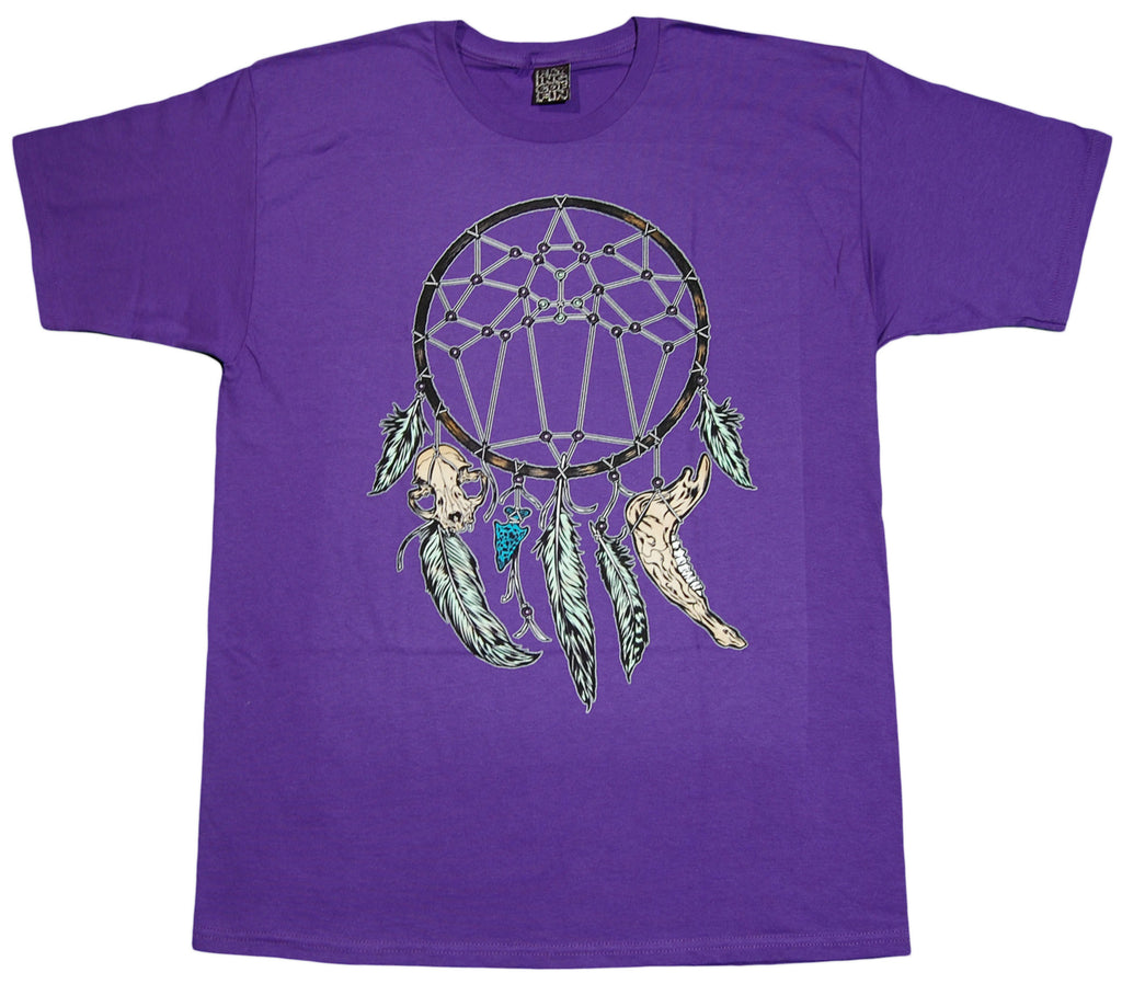 <!--2012072421-->Flying Coffin - 'Dreamcatcher' [(Purple) T-Shirt]