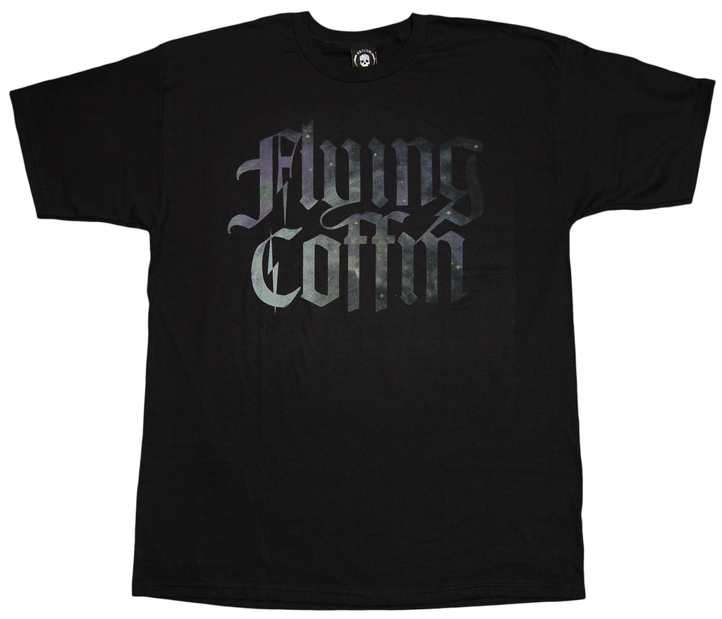 <!--2012072406-->Flying Coffin - 'Big Logo 2/ Galaxy' [(Black) T-Shirt]